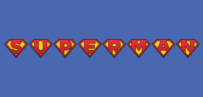 free printable superman letters classroom
