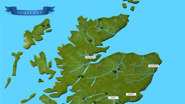 printable map of scotland
