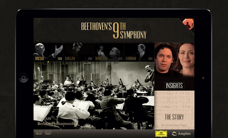 beethoven app for ipad