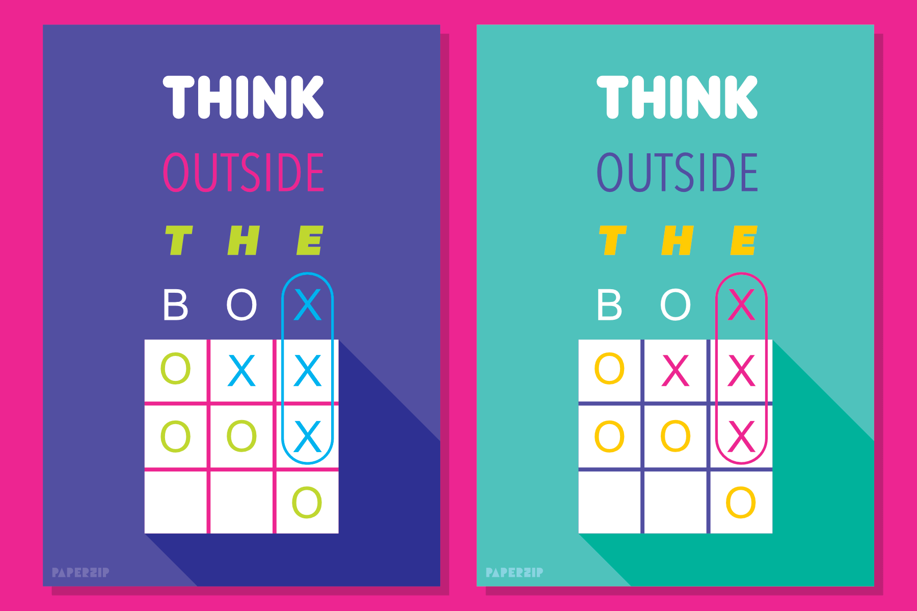 thinking outside the box poster classroom free