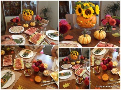 Herbsttisch/Herbsttafel