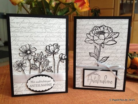 Stampin'Up!, Trauerkarte