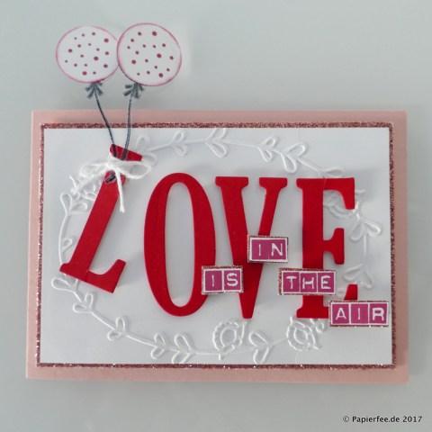 Stampin'Up!, Karte zum Valentinstag