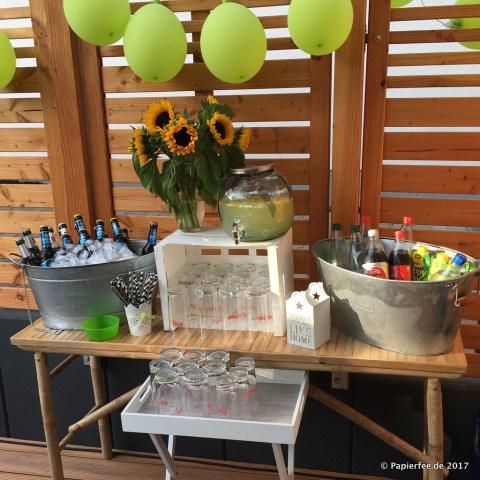 Gartenparty Zum 30 Geburtstag Buffet Candybar Deko Co