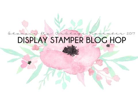 Stampin'Up! OnStage November 2017 Display Stamper Blog Hop