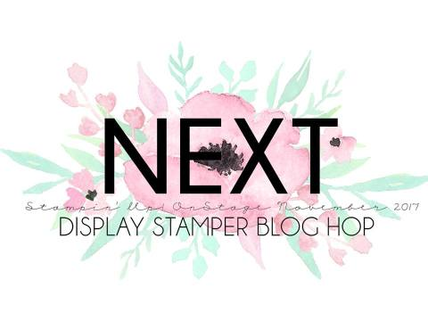Stampin'Up! OnStage2017 Display Stamper Blog Hop