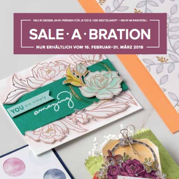 Stampin'Up! Sale-a-Bration 2018