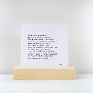 Plankplezier Kaart