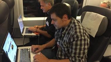 Projecte llampec amb Juan Sanchez i Miquel Alcarria