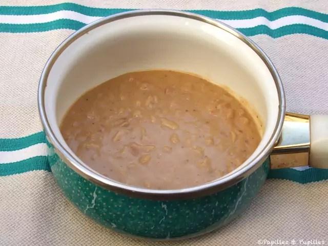 sauce satay sauce aux cacahuetes
