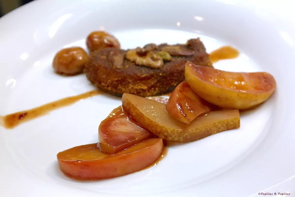 escalopes de foie gras panees au pain d