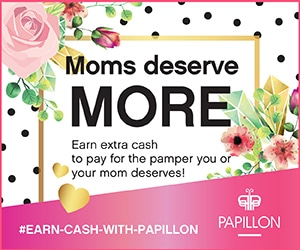 Mother's day with Papillon
