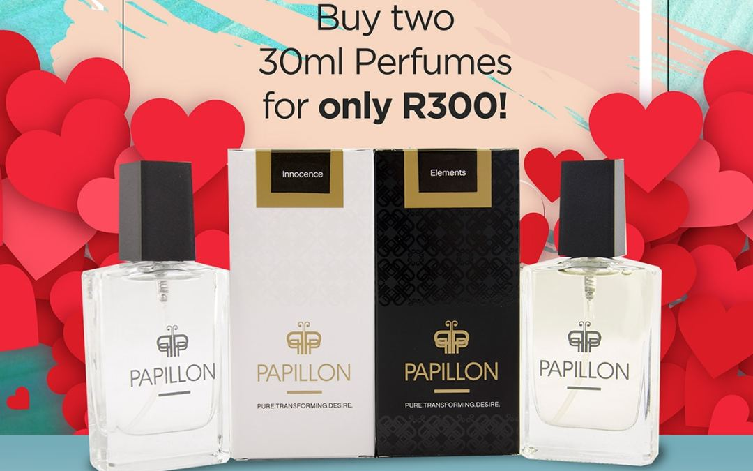 Make the Most of Valentine's Day with Papillon Perfumes