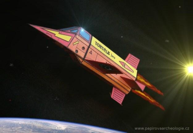 Experimentální raketoplán XD-017 Tortela