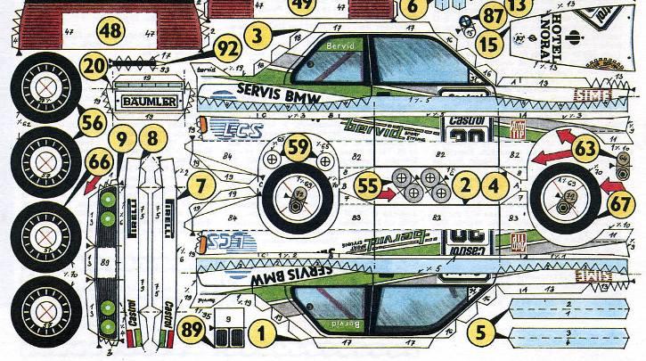 BMW_M3EVO2.5I-model