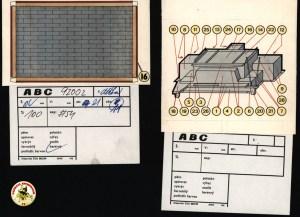 Originály s tiskovými průvodkami z ABC