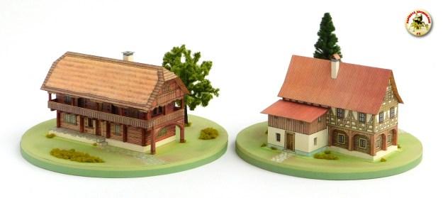 Roubený dům z Jičínska a patrová stavba z Děčínska
