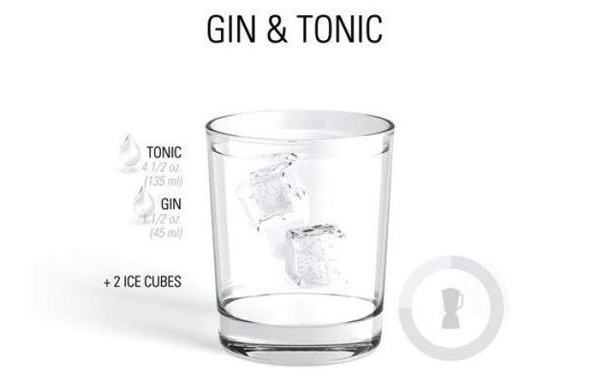 Drink Gin Tonica