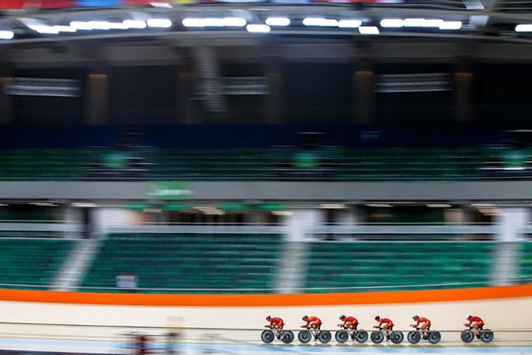 RIO DE JANEIRO, BRAZIL - 8 5 : of the Rio 2016 Olympic Games at Rio Olympic Velodrome on 8 5, 2016 in Rio de Janeiro, Brazil. (Photo by Rio 2016 / Gabriel Heusi)
