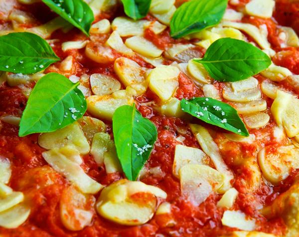 pizza vegana papogula