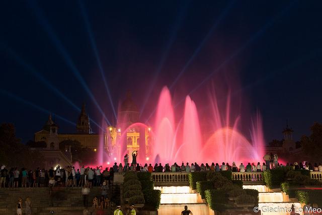 Foto: Giacinto Lo Meo - Fontana Magica Montjüic