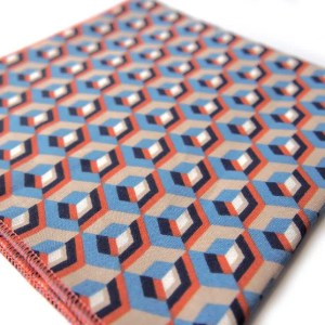 Pochettes costume imprimées