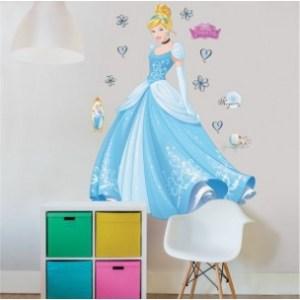 princess_cinderella_muurstickers