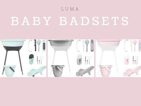 Baby badset LUMA