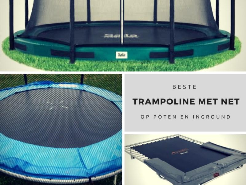 Beste trampoline met net