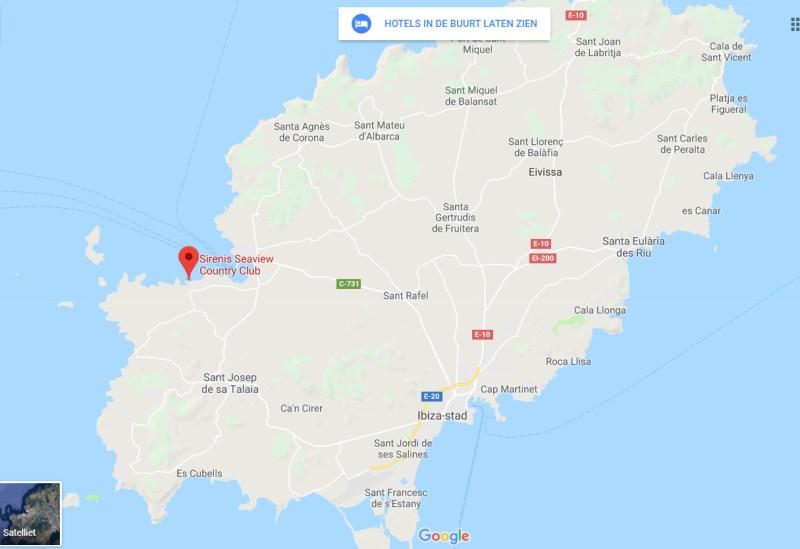 Ibiza voor kinderen sirenis seaview country club