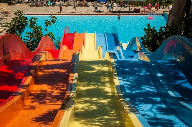 Waterpark voor kinderen