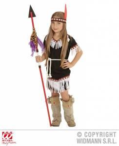 indiaans-meisje-zwart