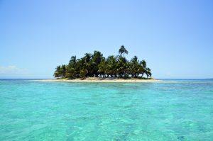 Varen naar eilandjes