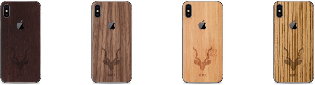 Iphone X hoezen hout kudu