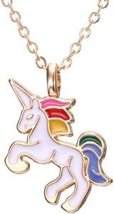 Meisjes ketting unicorn