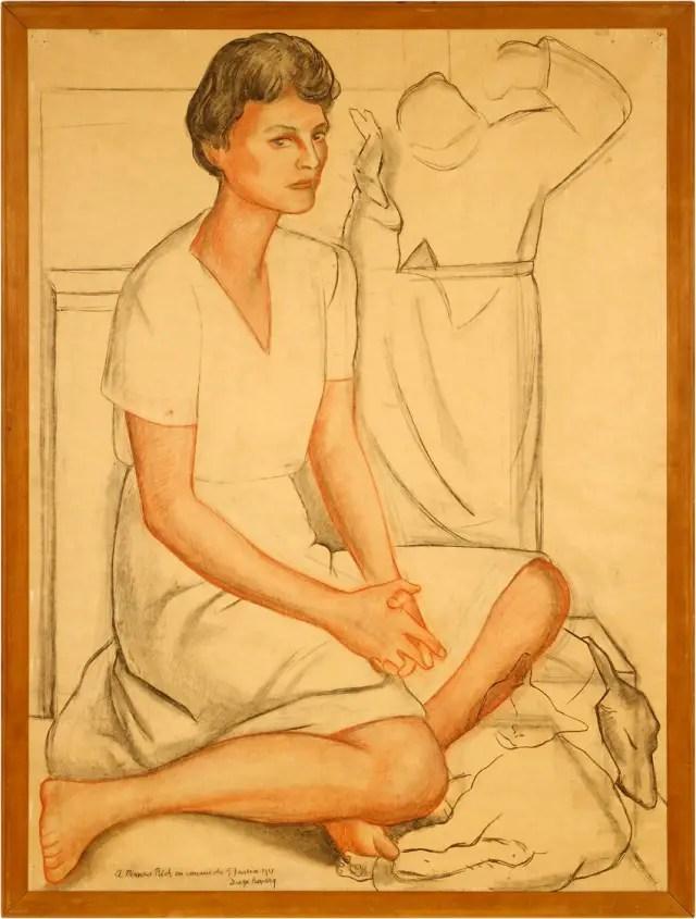 Frances Rich by Diego Rivera
