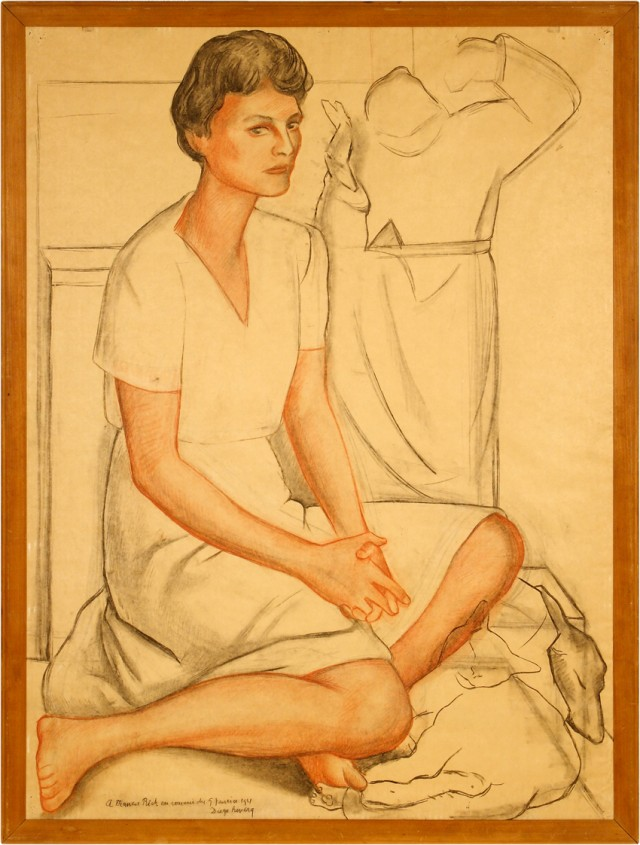 Frances Rich by Diego Rivera