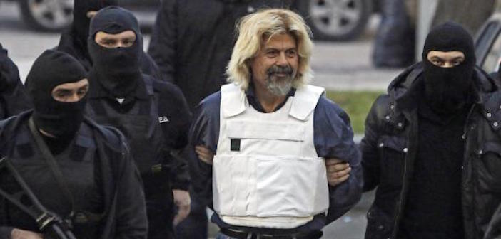 Christodoulos Xiros, brother of Savvas and also a member of the November 17th terrorist organization.