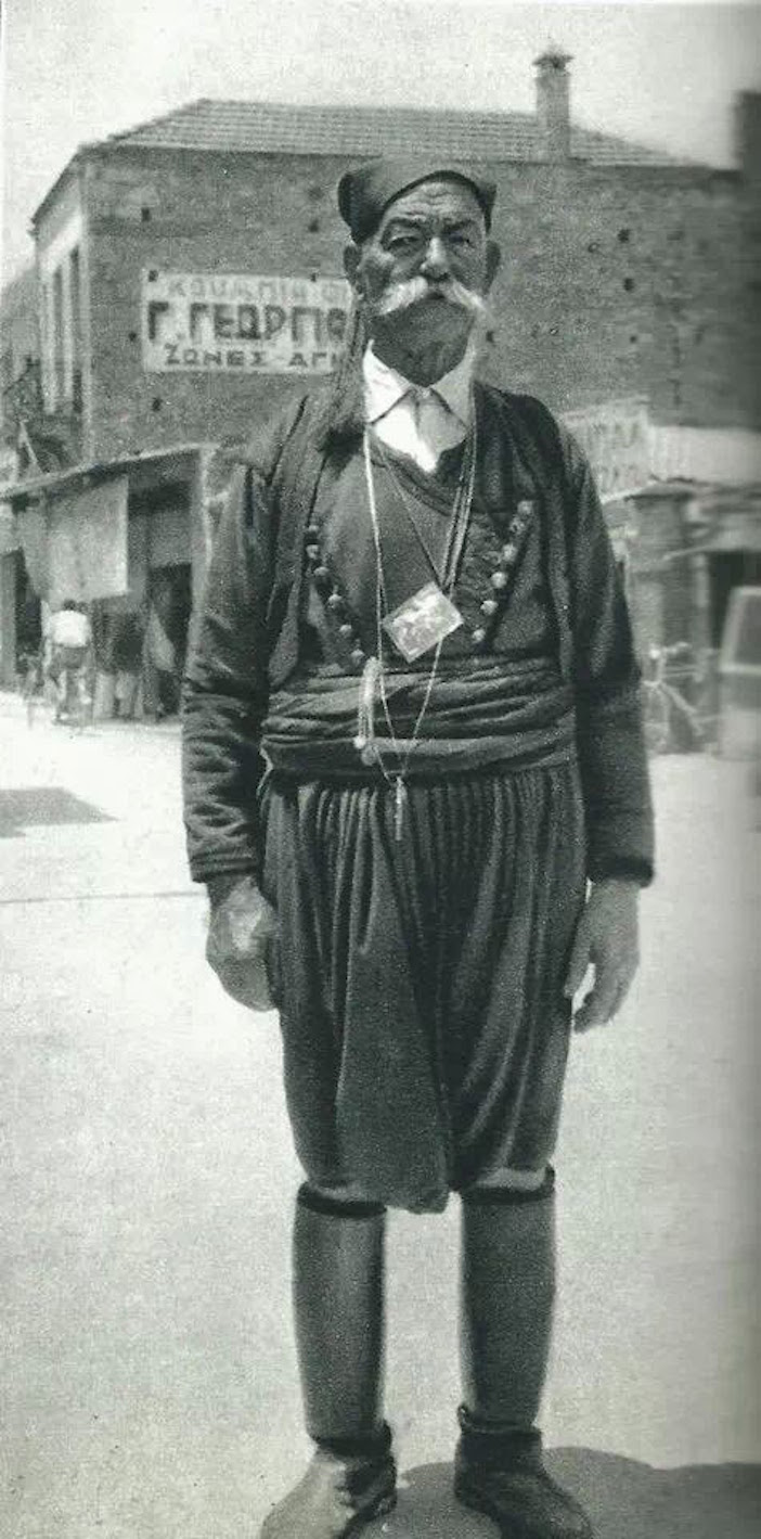A man in Hania