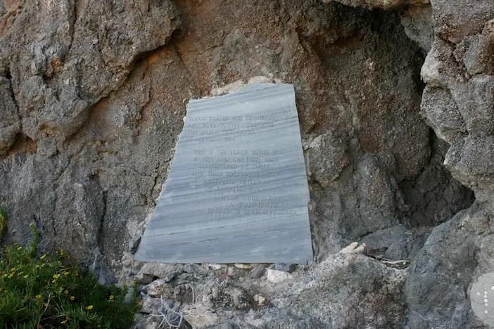 Elaphonissi-plaque