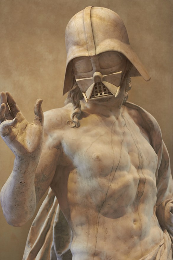 Star Wars Meets Classical Greece: How One Artist Merges His Two Passions