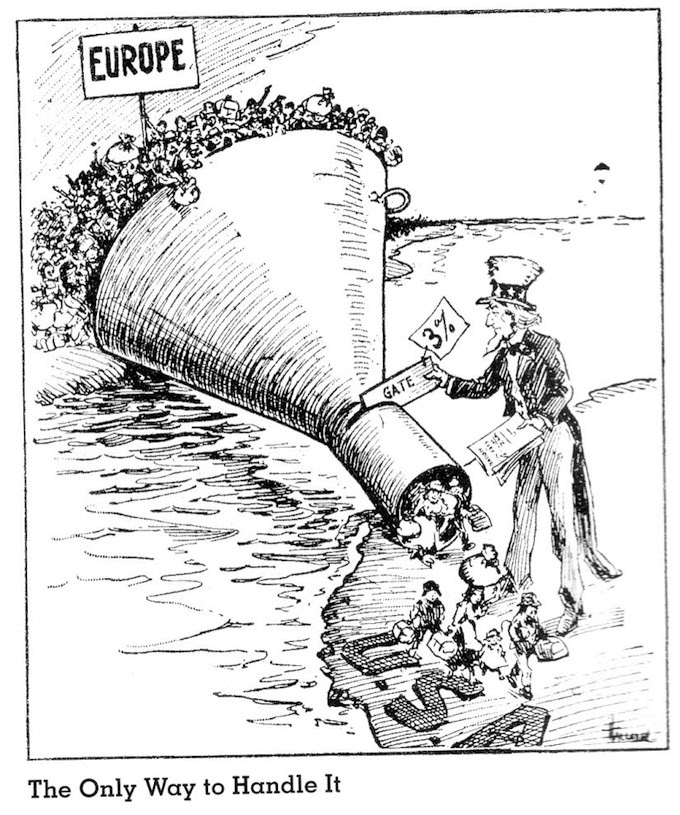 A political cartoon from the early 1900s