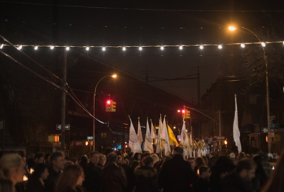 Five Great Photos from Good Friday in Astoria, New York