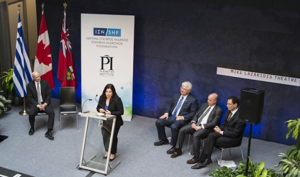 """It's """"all Greek"""" at the Prestigious Perimeter Institute in Canada with New $8 Million Physics Research Chair"""
