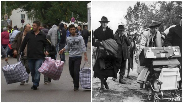 Then and Now: Europe's Last and Current Refugee Crisis in Fascinating Photos