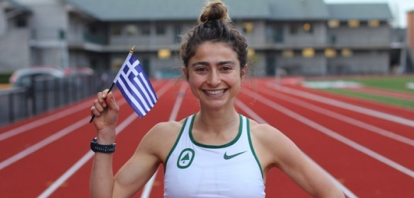 3rd Generation Greek American Running for Greece in Rio— All for Her Grandmother