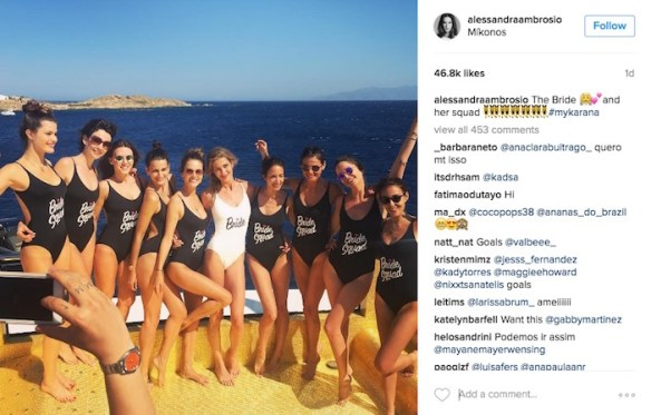 (Photos) This Is What Happens When Brazilian Supermodels Invade a Greek Island