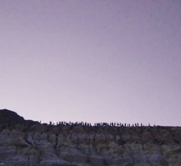 15 Improvisational Musicians Gathered in the Crater of an Active Volcano on Nisyros