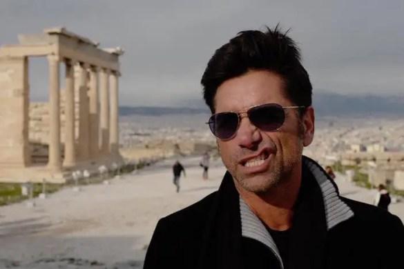 John Stamos Celebrating His Nameday in Greece