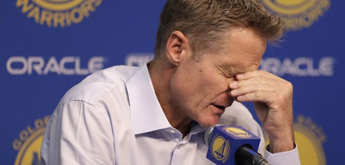 A WTF? Moment When a Greek Journalists Asks All Star Coach Steve Kerr an Awkward Question About Giannis Antetokounmpo